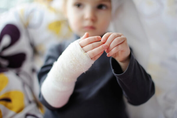 accidentes infantiles más comunes